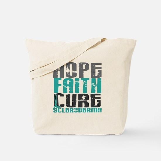 Scleroderma HopeFaithCure1 Tote Bag