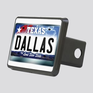 texas-licenseplate-dallas. Rectangular Hitch Cover