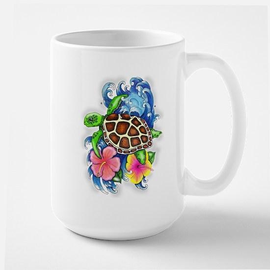 Tropical Sea Turtle Mugs