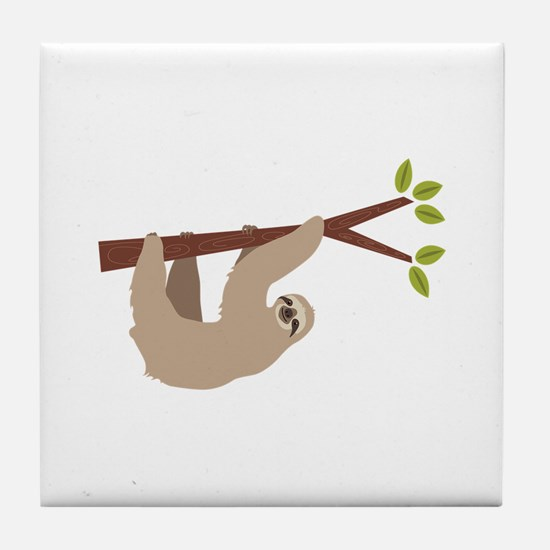 Sloth Tile Coaster