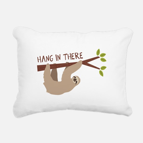 Hang In There Rectangular Canvas Pillow