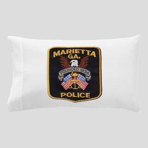 Marietta Police Pillow Case