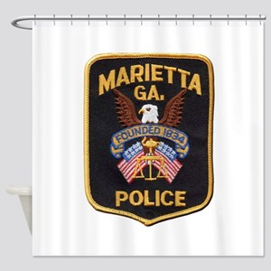 Marietta Police Shower Curtain