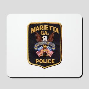 Marietta Police Mousepad