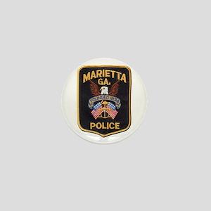Marietta Police Mini Button
