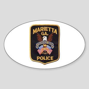 Marietta Police Sticker