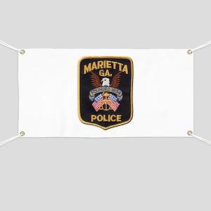 Marietta Police Banner