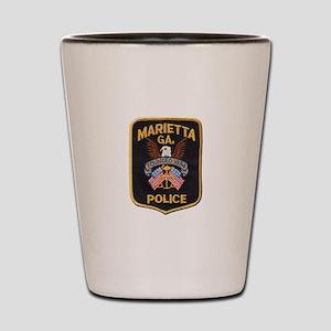 Marietta Police Shot Glass
