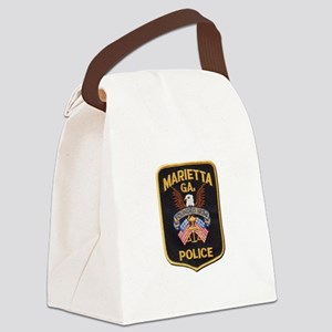 Marietta Police Canvas Lunch Bag