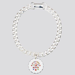 All About Math Charm Bracelet, One Charm