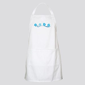 Flower Beach BBQ Apron