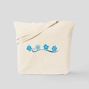 Flower Beach Tote Bag