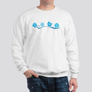 Flower Beach Sweatshirt