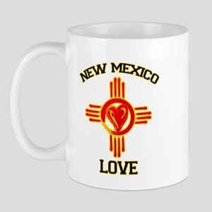 NEW MEXICO LOVE Mugs