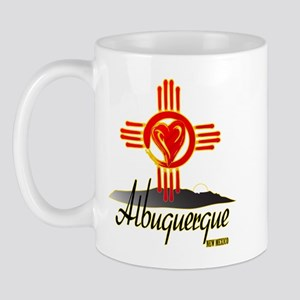 ALBUQUERQUE LOVE Mugs