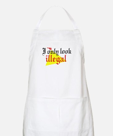 Look Illegal BBQ Apron