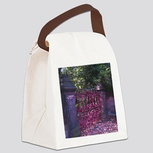 Strawberry Fields Gates Canvas Lunch Bag