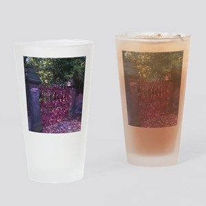 Strawberry Fields Gates Drinking Glass