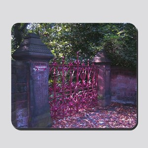 Strawberry Fields Gates Mousepad