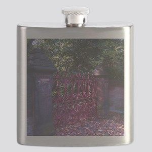 Strawberry Fields Gates Flask