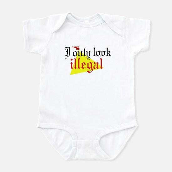 Look Illegal Infant Bodysuit