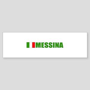 Messina, Italy Bumper Sticker