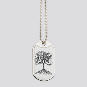 Ankh Tree of LIfe Dog Tags