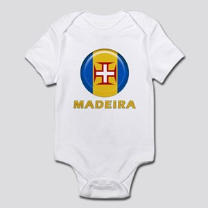 Madeira islands flag Infant Bodysuit