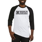 Rated R for being awesome Baseball Jersey