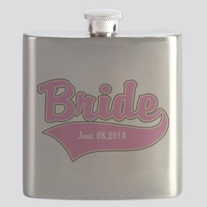 Bride Personalized Flask