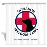 OFP Logo Shower Curtain