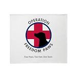OFP Logo Throw Blanket