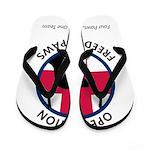 OFP Logo Flip Flops