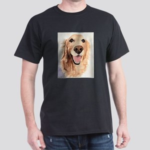 Golden Retriever Merchandise Dark T-Shirt