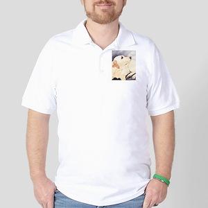 Yellow Lab #1 Items Golf Shirt