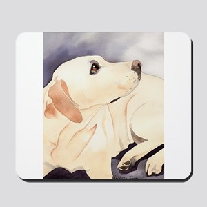 Yellow Lab #1 Items Mousepad