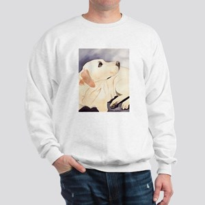 Yellow Lab #1 Items Sweatshirt