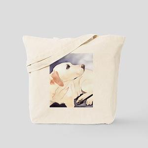 Yellow Lab #1 Items Tote Bag