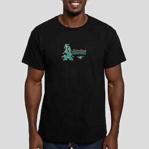 Scleroderma Awareness Men's Fitted T-Shirt (dark)