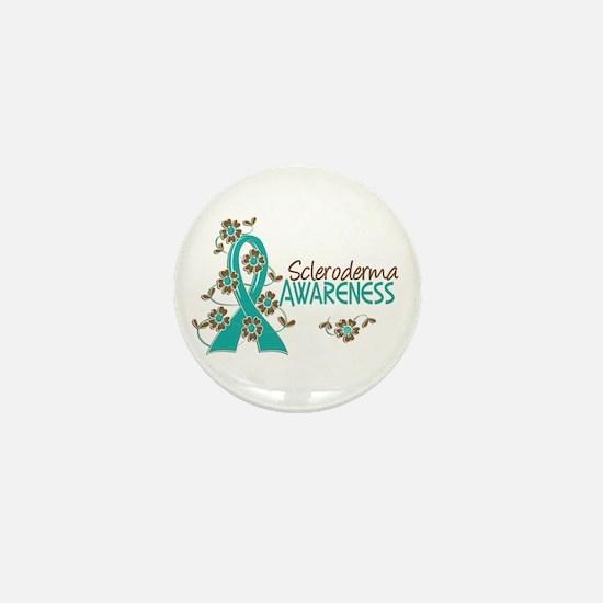 Scleroderma Awareness 6 Mini Button