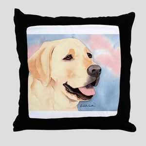Yellow Lab #2 Merchandise! Throw Pillow