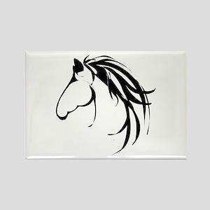 Classic Horse Head Logo Magnets