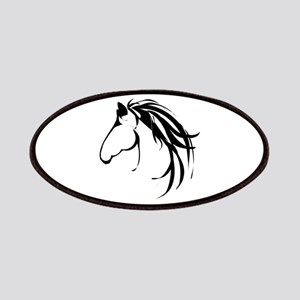 Classic Horse Head Logo Patches