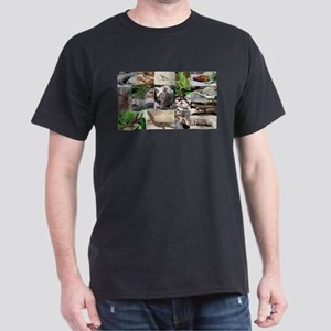 Lizard Types full Color Dark T-Shirt
