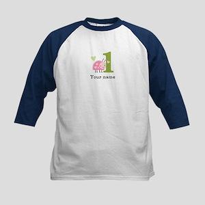 Ladybug (1) Kids Baseball Jersey