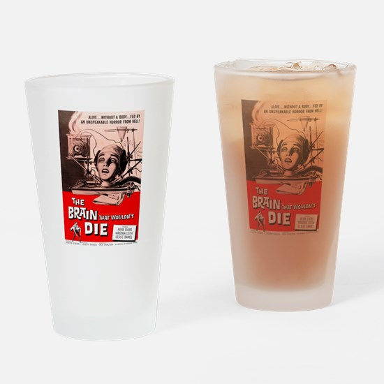 The Brain That Wouldnt Die Drinking Glass