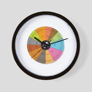 Whiskey Wheel Wall Clock