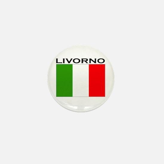 Livorno, Italy Mini Button