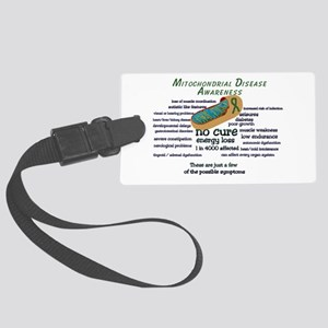 Mito Awarness Facts Large Luggage Tag
