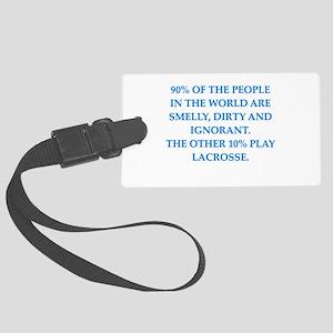lacrosse Luggage Tag